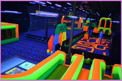 Glow Galaxy Offers A Variety Of Activities In Our The Dark Play Arena To Ensure That Your Guests Dont Tire